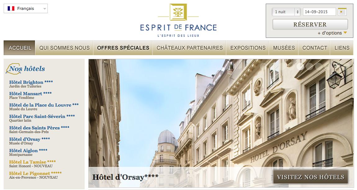 Esprit de France旅游翻译