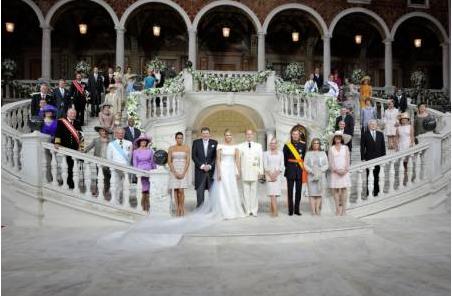 摩纳哥王室婚礼