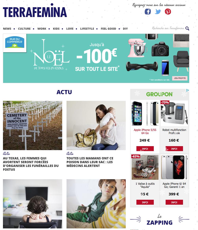 将webzine职业女性网站翻译成美式英语
