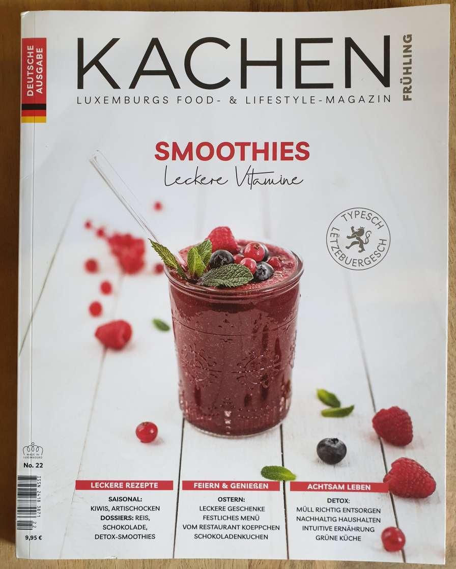 翻译 Kachen杂志 桌面排版 卢森堡 美食专家 季刊杂志