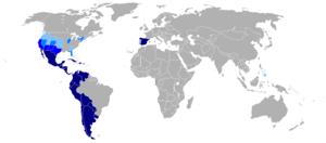 西班牙语作为翻译目标语言