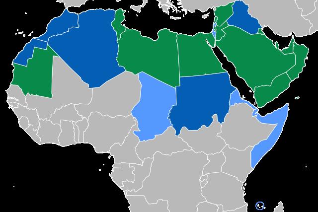 阿拉伯语作为翻译目标语言