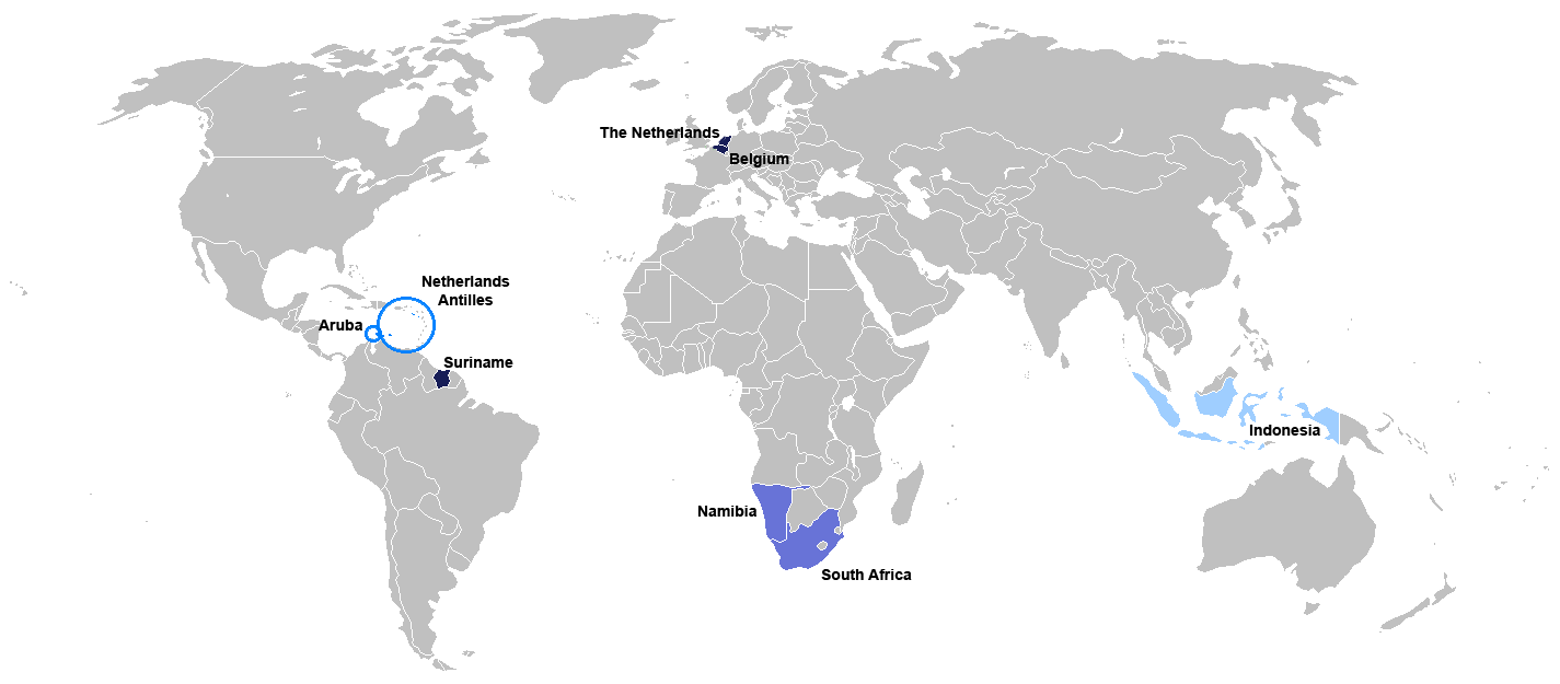 荷兰语作为翻译目标语言